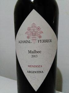 Achaval Ferrer - Malbec Mendoza 2013